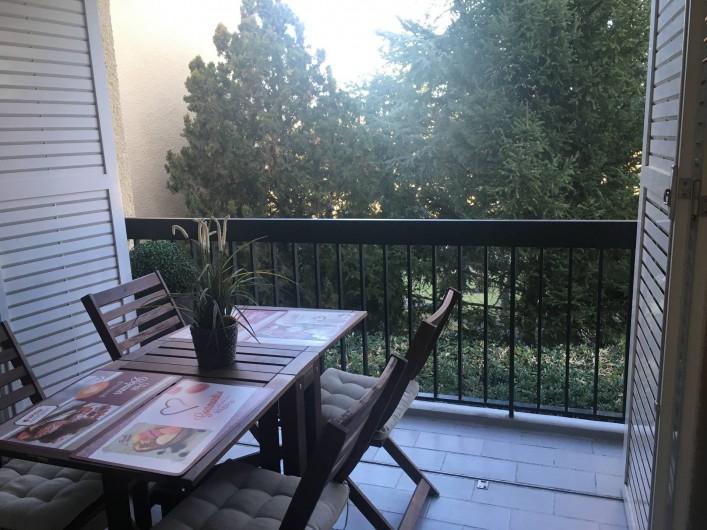 Location de vacances - Appartement à Cassis - La terrasse