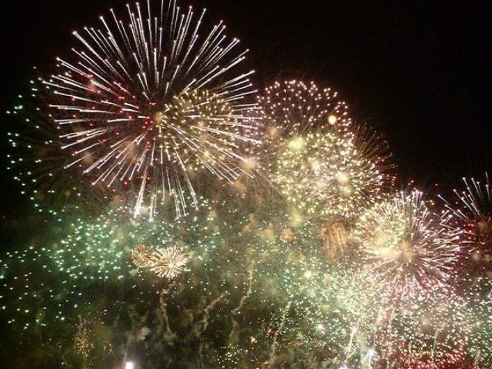 Location de vacances - Camping à Villemoustaussou - Notre grandiose feu d'artifice (classé 2ème plus beau de France)