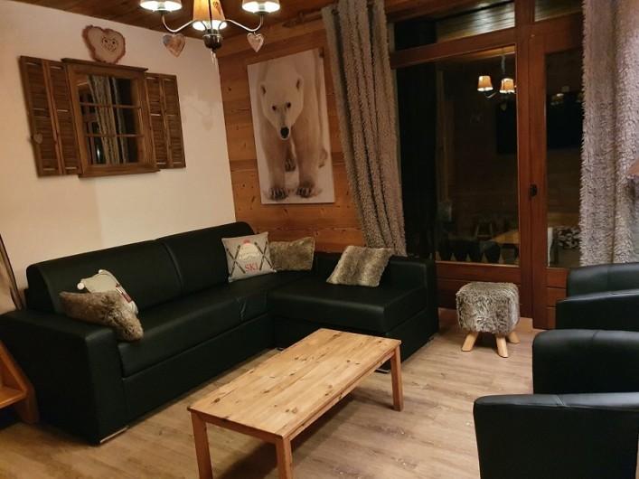 Location de vacances - Appartement à Villaroger - Salon