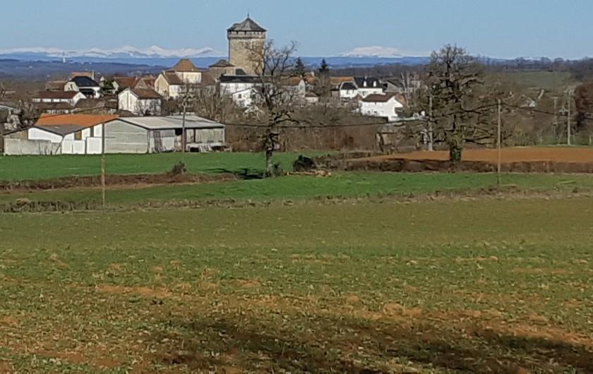 Location de vacances - Gîte à Sainte-Croix - Tour et clocher de Sainte-CROIX