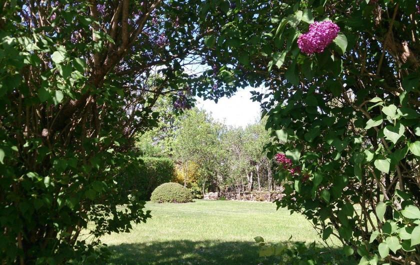 Location de vacances - Gîte à Sainte-Croix - Jardin