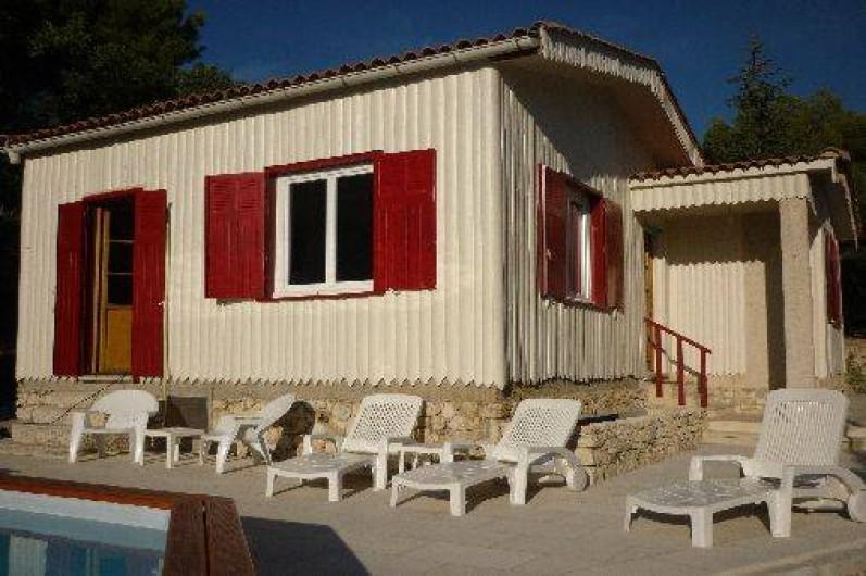 Location de vacances - Villa à Malemort-du-Comtat