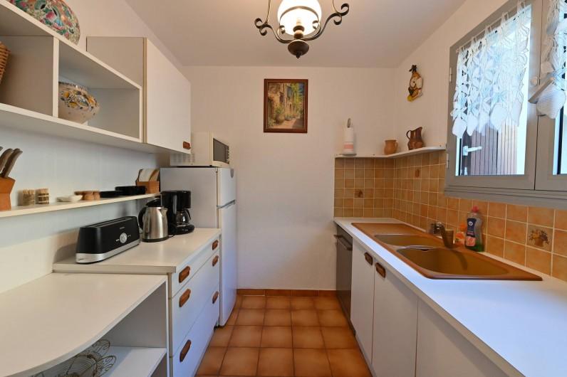 Location de vacances - Appartement à Port-Vendres - cuisine 1