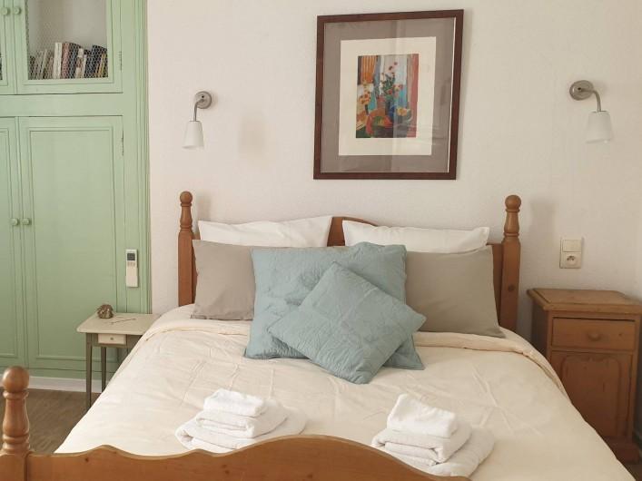 Location de vacances - Chambre d'hôtes à Tautavel - Chambre double Conflent