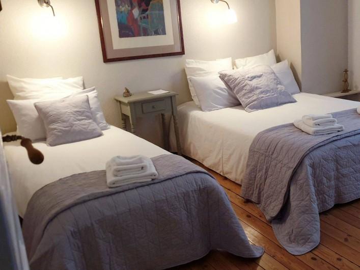 Location de vacances - Chambre d'hôtes à Tautavel - Chambre Triple Cerdagne
