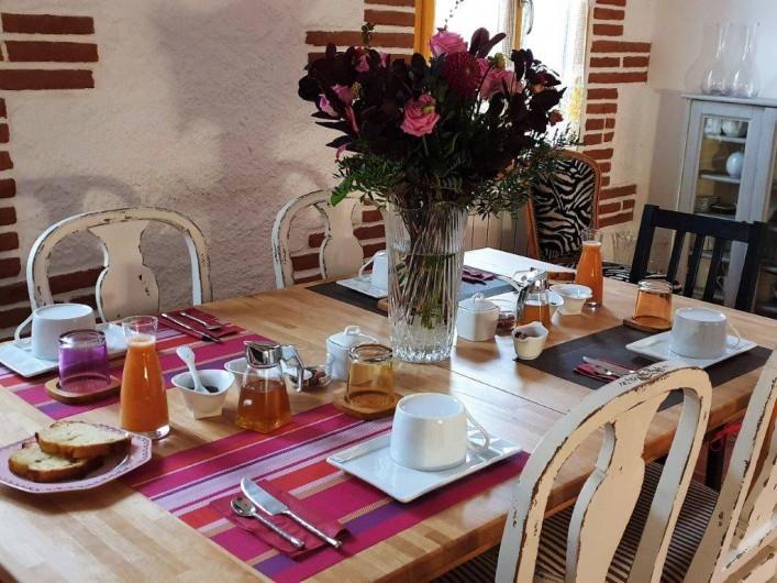 Location de vacances - Chambre d'hôtes à Tautavel - Petit-déjeuner