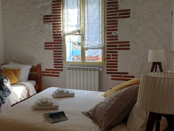 Location de vacances - Chambre d'hôtes à Tautavel - Chambre Triple supérieure Capcir