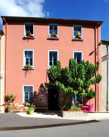 Location de vacances - Chambre d'hôtes à Tautavel - L'Abri sous Roche Façade