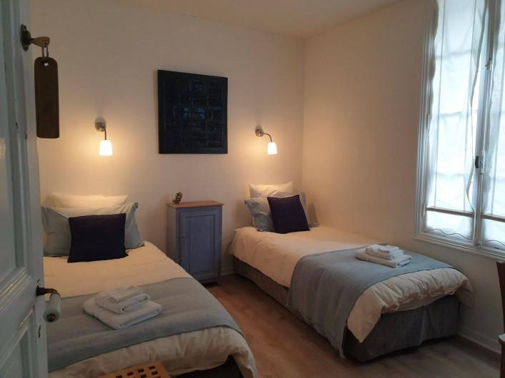 Location de vacances - Chambre d'hôtes à Tautavel - Chambre double Lits jumeaux Vallespir