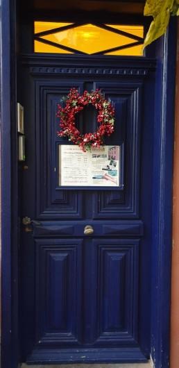 Location de vacances - Chambre d'hôtes à Tautavel - L'Abri sous Roche Entrée