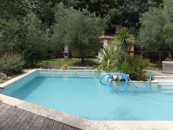 Location de vacances - Villa à Aubais - Piscine sécurisée
