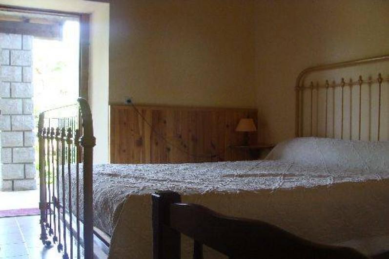 Location de vacances - Appartement à Saint-Alban-Auriolles - Chambre 1 de la location du 1er étage 1 lits 2 places 1 lit 1 place
