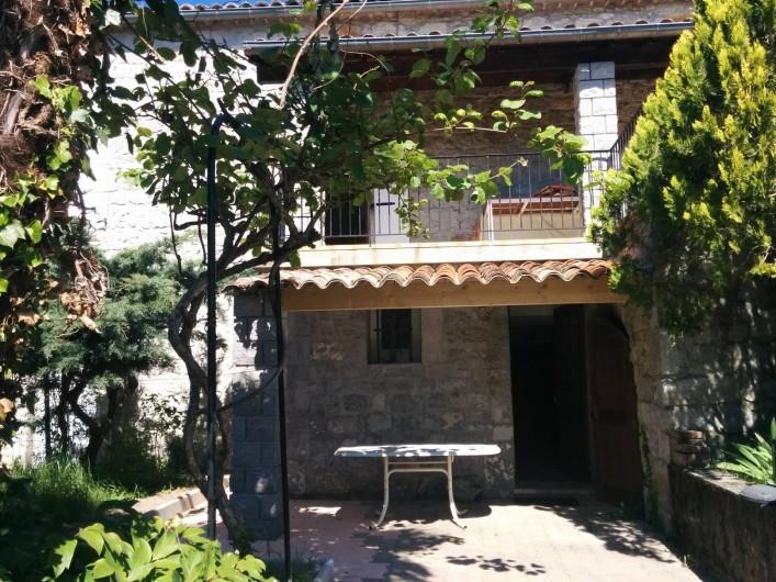 Location de vacances - Appartement à Saint-Alban-Auriolles