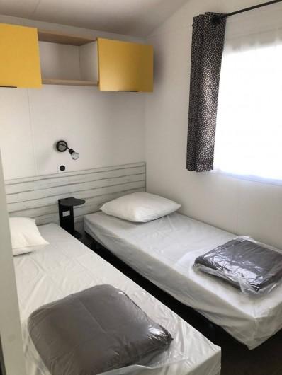 Location de vacances - Camping à Saint-Georges-de-Didonne - Mobil home Ibiza Duo 30m² Confort