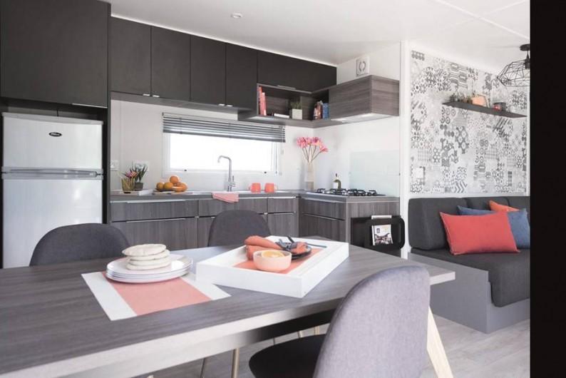 Location de vacances - Camping à Saint-Georges-de-Didonne - Mobil home Otello Duo 36m² PREMIUM - 2 salles de bains