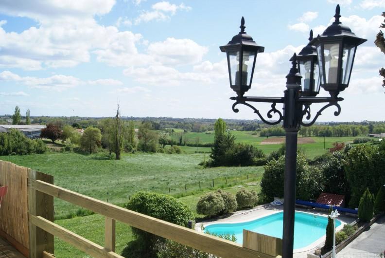 Location de vacances - Chambre d'hôtes à Soubran - Domaine la Fontaine vue panoramique