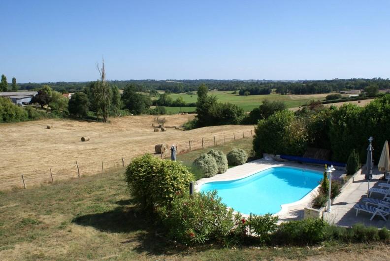 Location de vacances - Chambre d'hôtes à Soubran - Domaine la Fontaine vue