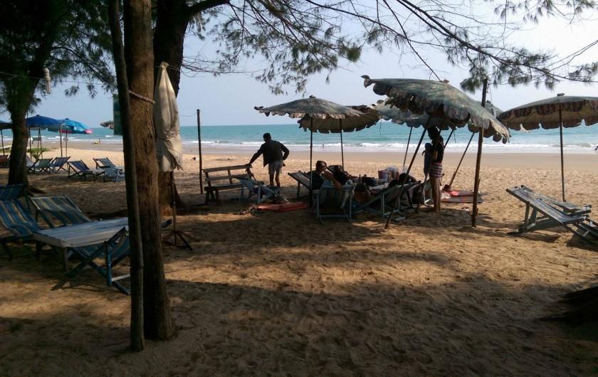 Location de vacances - Maison - Villa à Phe - Beach , white sand