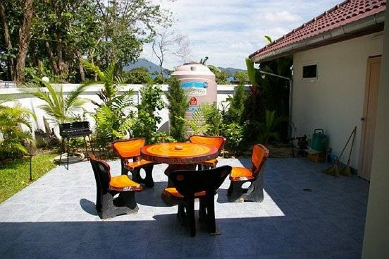 Location de vacances - Maison - Villa à Phe - second terrasse in the back of the house