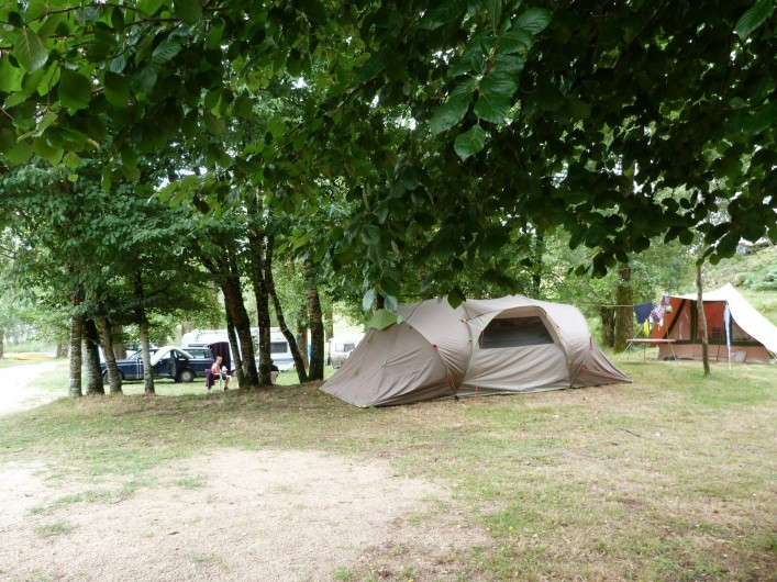 Location de vacances - Bungalow - Mobilhome à Villefranche-de-Rouergue - emplacement camping