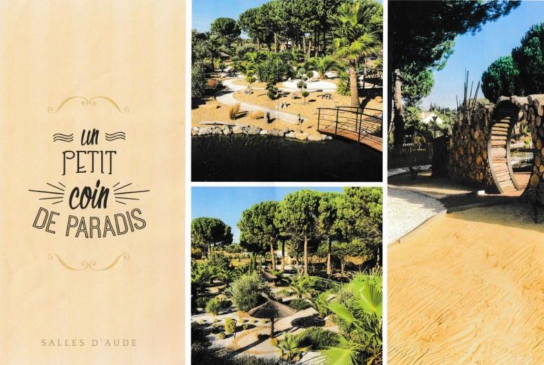 """Location de vacances - Villa à Saint-Pierre la Mer - COUCHAGE INSOLITE """"LA PALMERAIE"""" A   SALLES D'AUDE"""