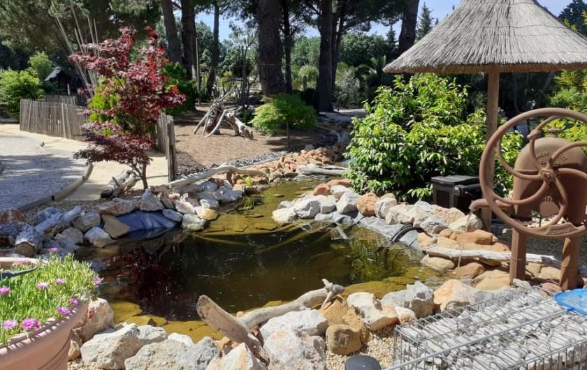 Location de vacances - Villa à Saint-Pierre la Mer - Le ruisseau