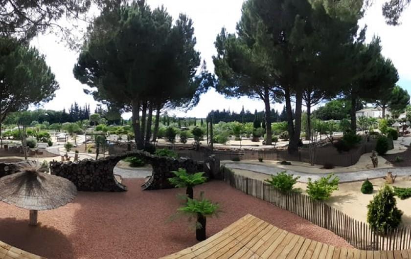Location de vacances - Villa à Saint-Pierre la Mer - Parc