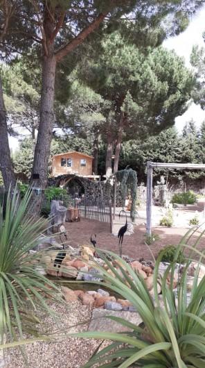 Location de vacances - Villa à Saint-Pierre la Mer - La pinède