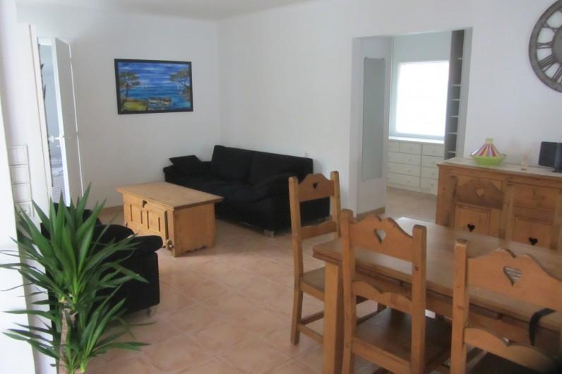 Location de vacances - Villa à Saint-Pierre la Mer - Salon Salle à manger