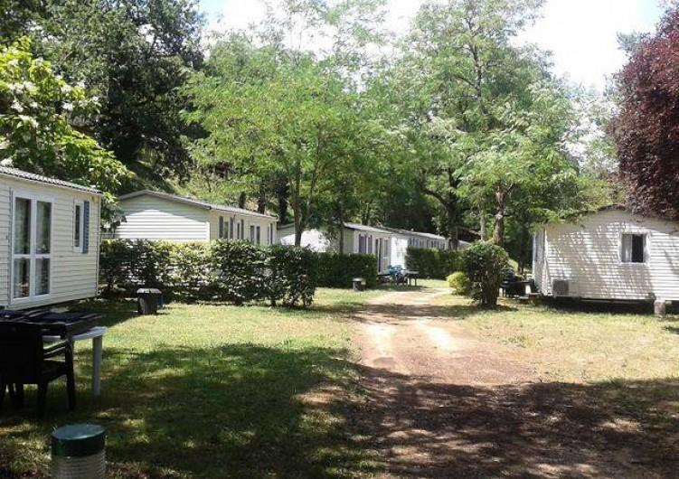Location de vacances - Bungalow - Mobilhome à Saint-Cybranet - CAMPING LE CEOU