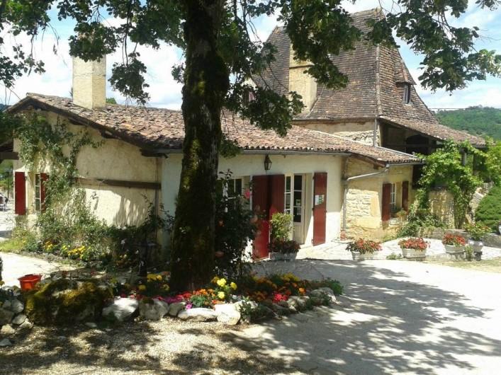 Location de vacances - Bungalow - Mobilhome à Saint-Cybranet - ACCUEIL DU CAMPING