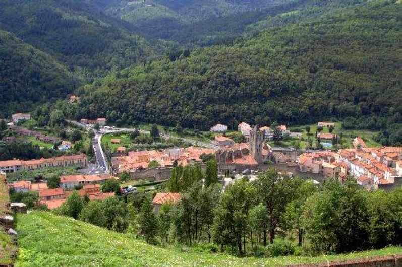 Location de vacances - Gîte à Prats-de-Mollo-la-Preste - Prats de Mollo, vue du fort Lagarde.