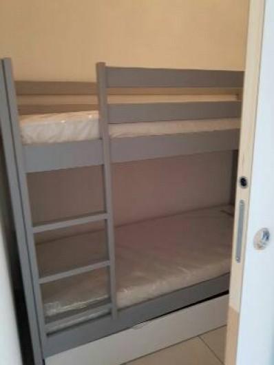 Location de vacances - Appartement à Le Cap d'Agde - VUE SEJOUR COTE GAUCHE