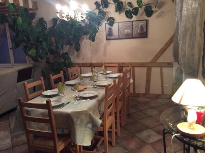 Location de vacances - Gîte à Cier-de-Luchon - coin repas