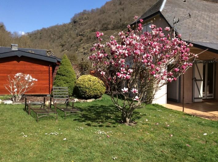 Location de vacances - Gîte à Cier-de-Luchon - le jardin