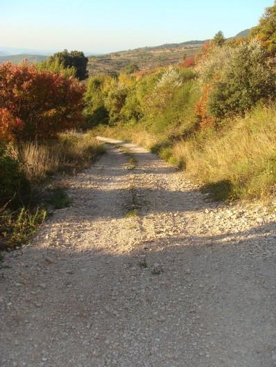 Location de vacances - Mas à Saint-Privat - Le petit chemin à