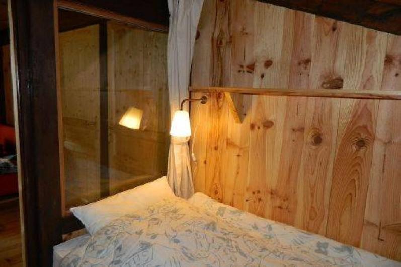 Location de vacances - Mas à Saint-Privat - La chambre d'enfants avec deux lits