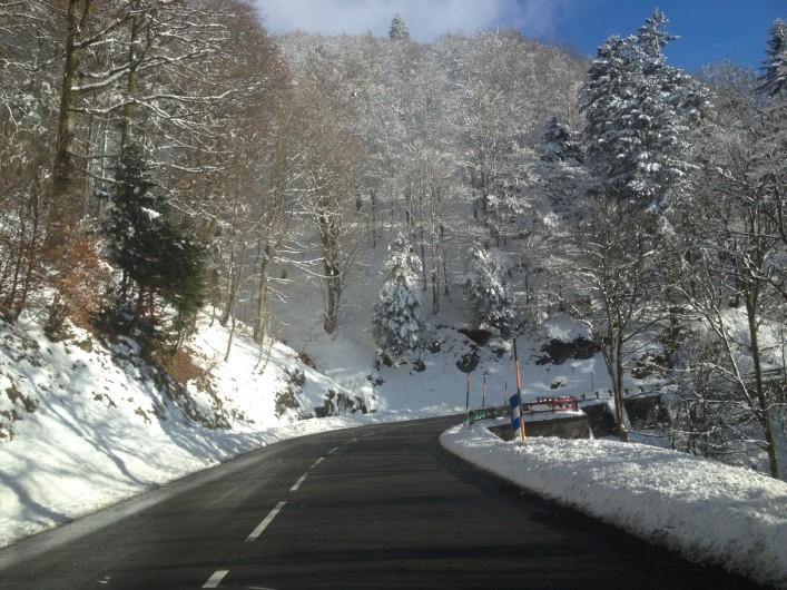 Location de vacances - Chalet à Gérardmer - Route des crètes
