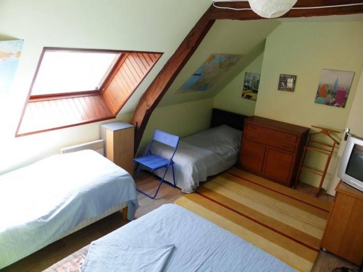 Location de vacances - Gîte à Louvigné-du-Désert - Chambre 4 pers