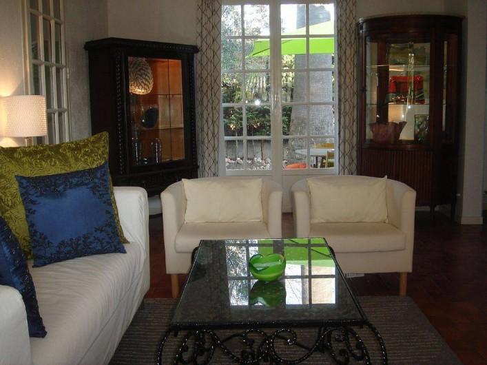 Location de vacances - Villa à Fréjus - salon