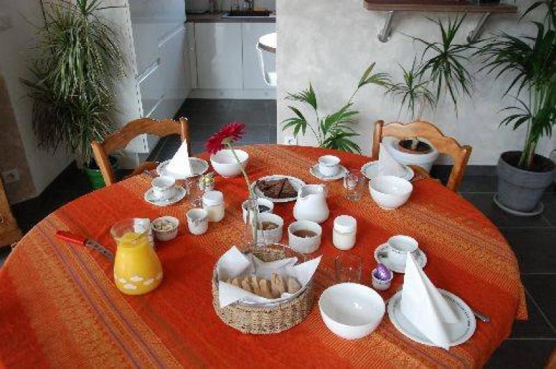 Location de vacances - Chambre d'hôtes à Antoingt