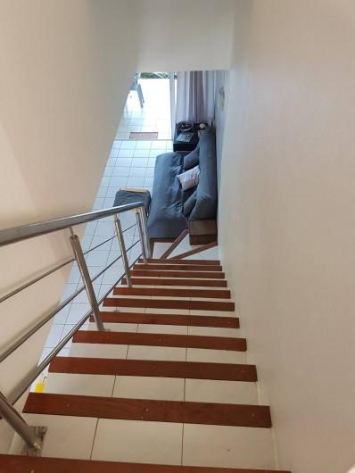 Location de vacances - Maison - Villa à Grand Baie - Escalier au 1er étage