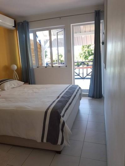 Location de vacances - Maison - Villa à Grand Baie - 1ère chambre avec lit double