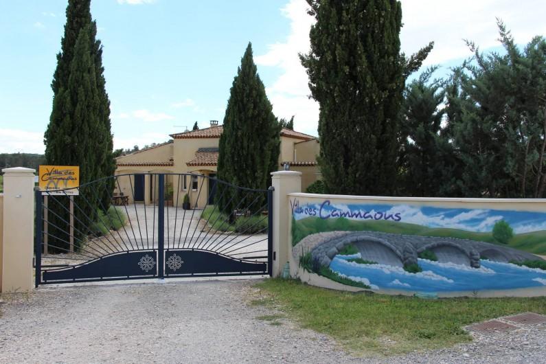 Location de vacances - Chambre d'hôtes à Vacquières - Bienvenue à la Villa des Cammaous