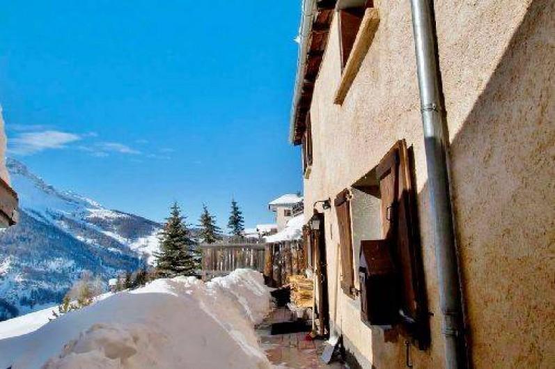 Location de vacances - Chalet à Saint-Véran - Le Chatelet en hiver