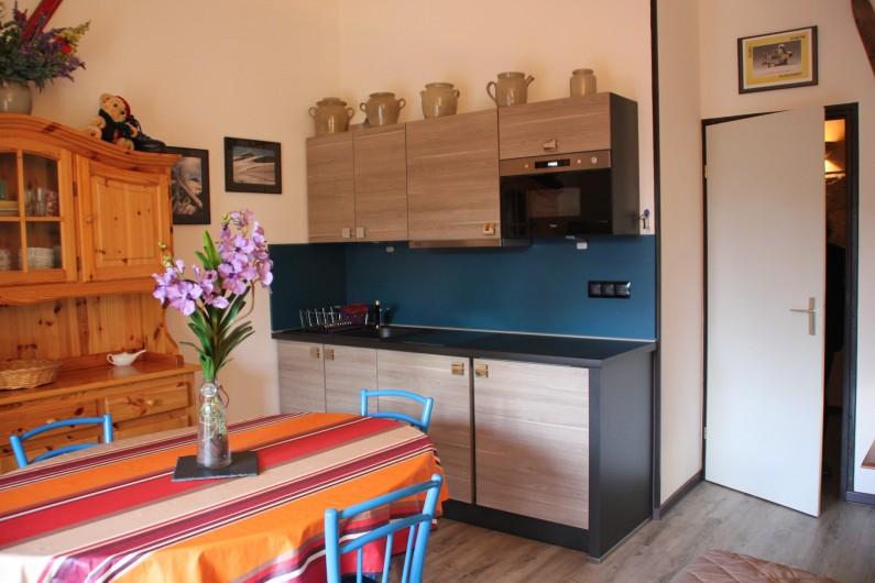 Location de vacances - Appartement à Super Lioran - cuisine salon