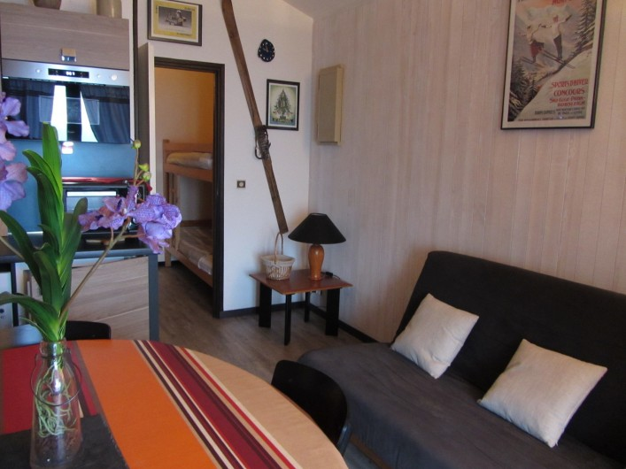Location de vacances - Appartement à Super Lioran - Salon cuisine