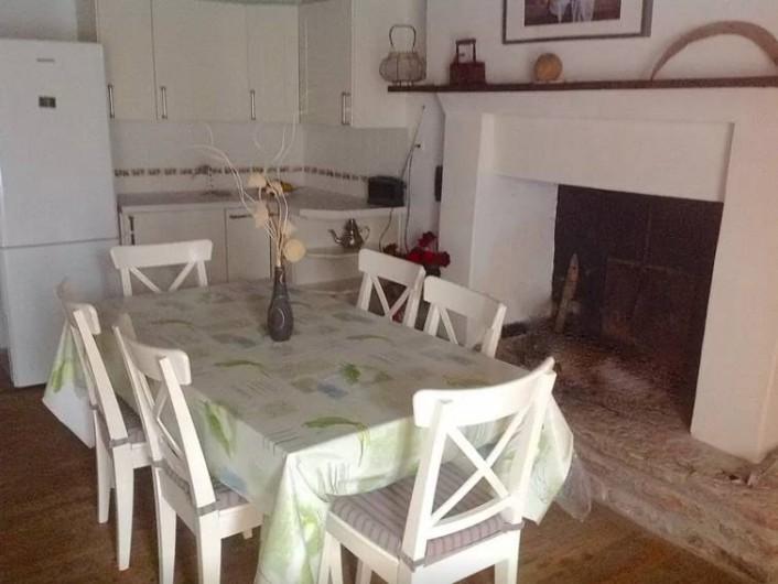 Location de vacances - Maison - Villa à Concoret - Grande cuisine dinatoire