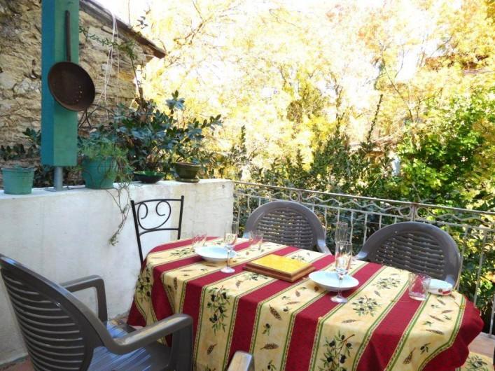 Location de vacances - Maison - Villa à Correns - La terrasse