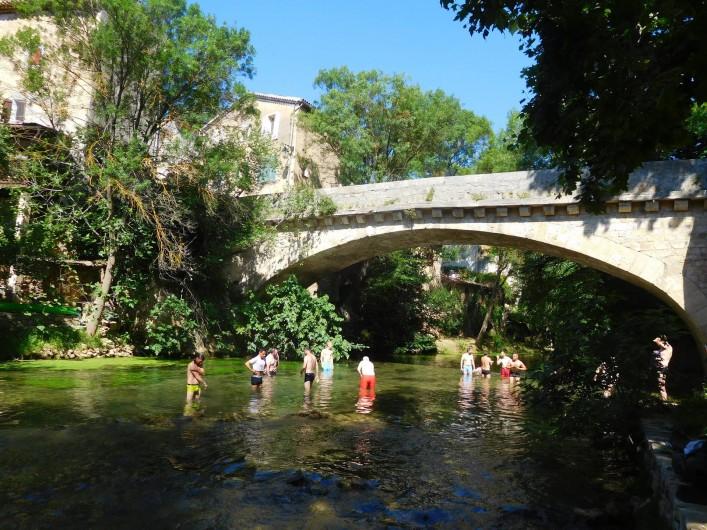 Location de vacances - Maison - Villa à Correns - Vue sur la rivière